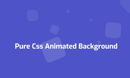 20+ CSS Background Animation Examples [Pure CSS]