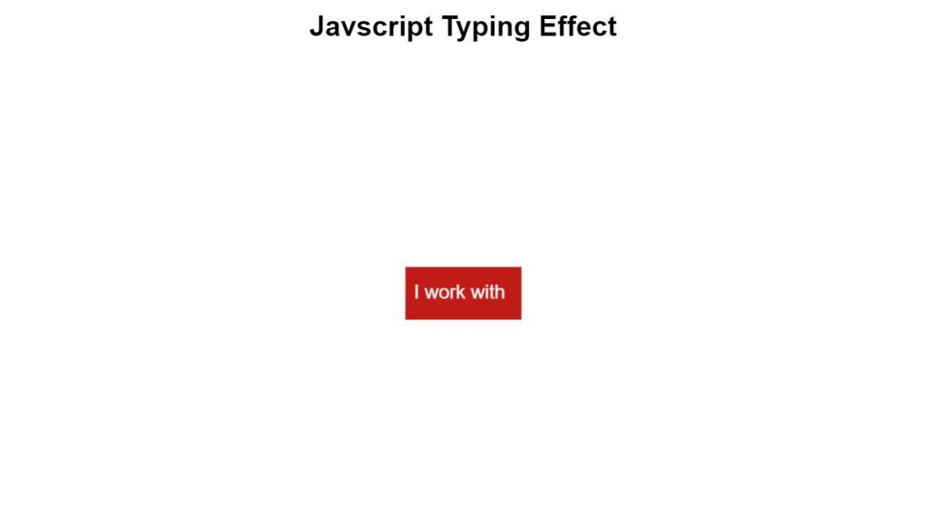 typewriter or input text type effect animation css