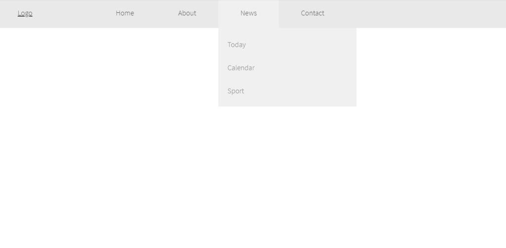 Responsive HTML CSS Mega Menu with Logo