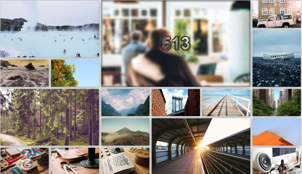 responsive lightbox css image/photo gallery