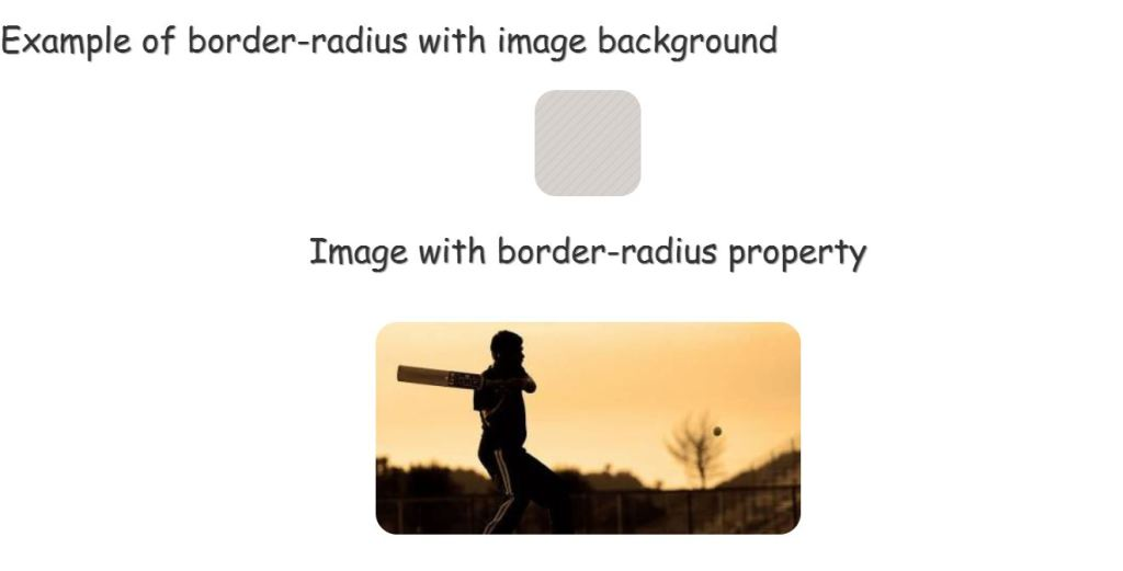 HTML CSS Rounded Corners/ Curved Border for Images
