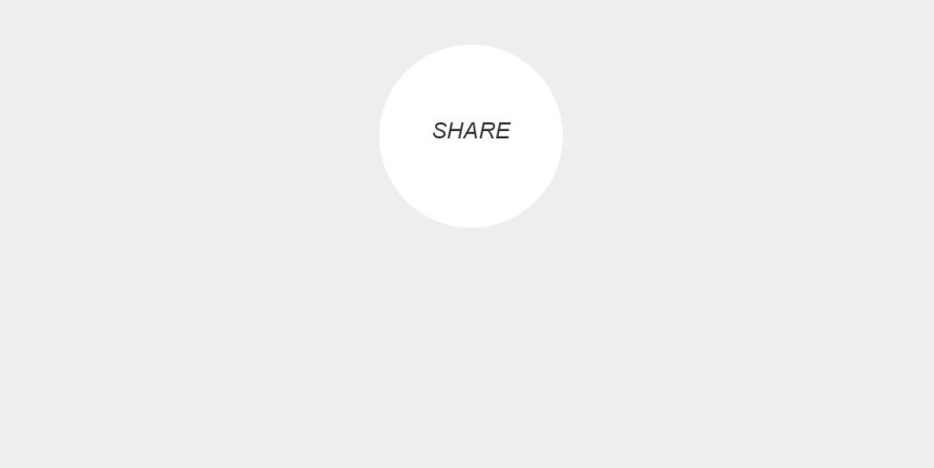 CSS Simple Share Button