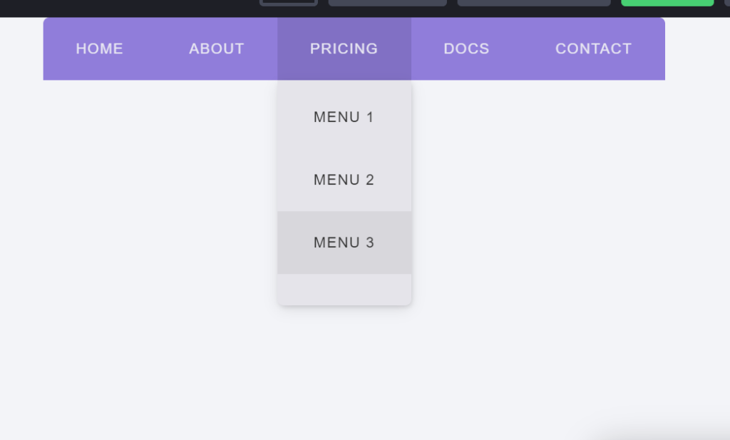 CSS Staggered Animation Horizontal Menus