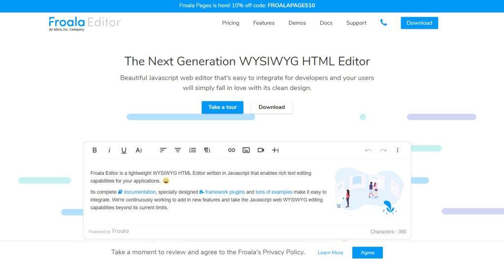 Javascript Wysiwyg html editor