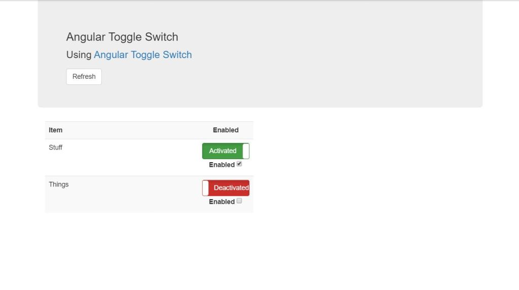 angular bootstrap toggle switch button