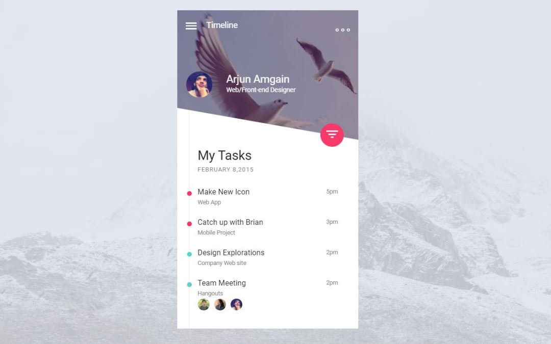 15+ Bootstrap User Profile Page Design Examples