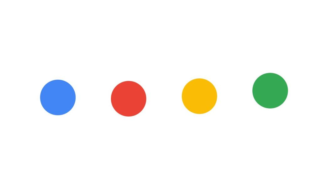 Google dots radio button
