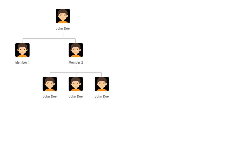 CSS Horizontal Genealogy