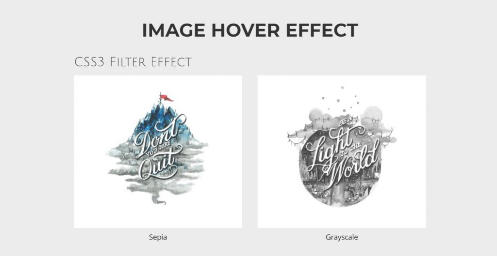 hover effects example
