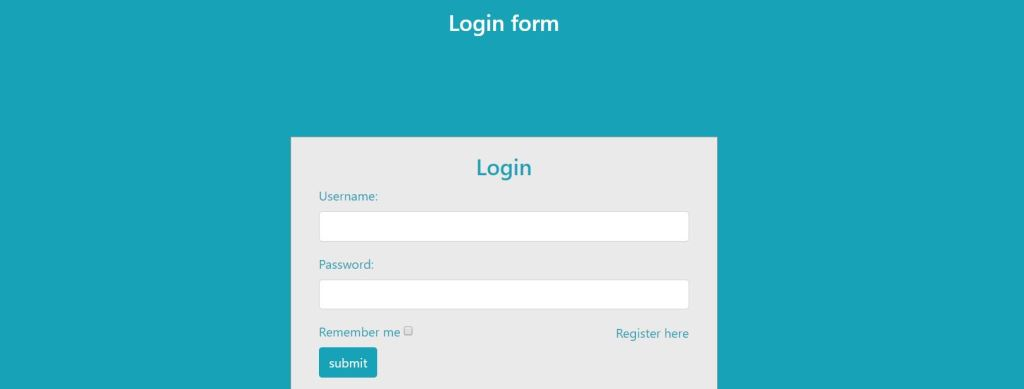 Login Signup Page