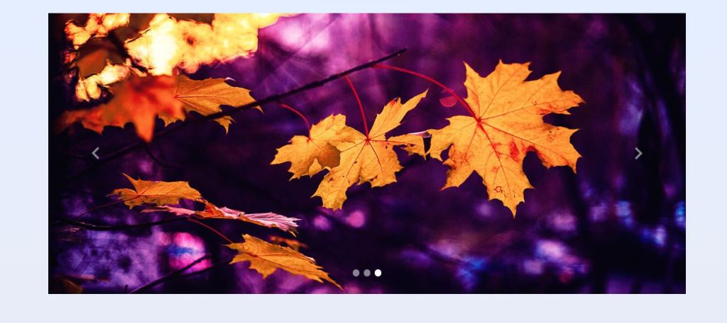 Bootstrap material design image slider example