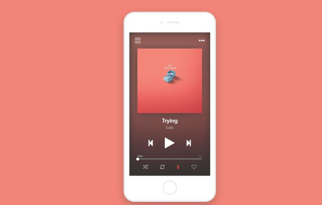 Bootstrap 4 awesome audio player