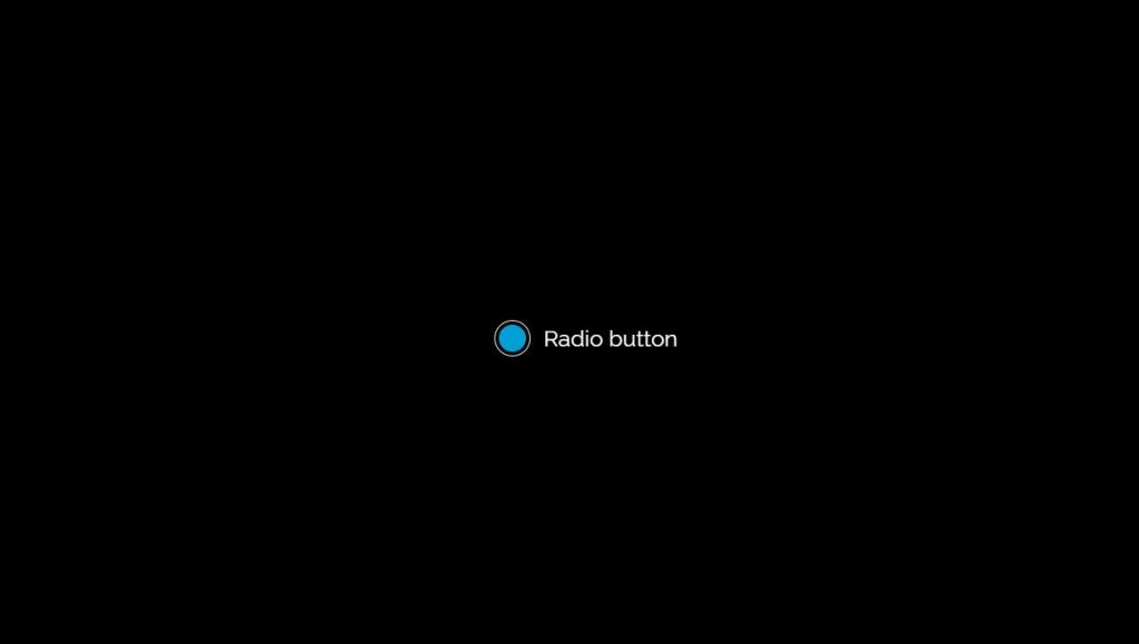 Bootstrap radio button animation