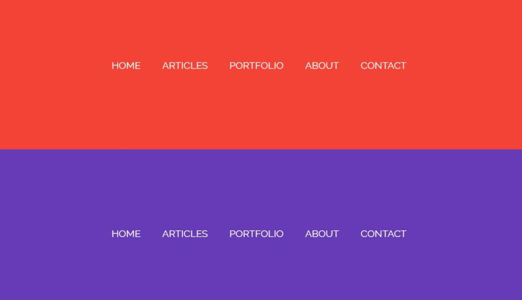 Bootstrap navigation page transitions effect