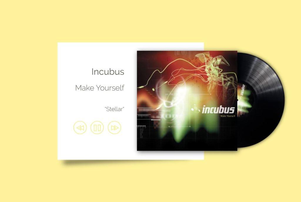 JavaScript JS music/audio play UI Design
