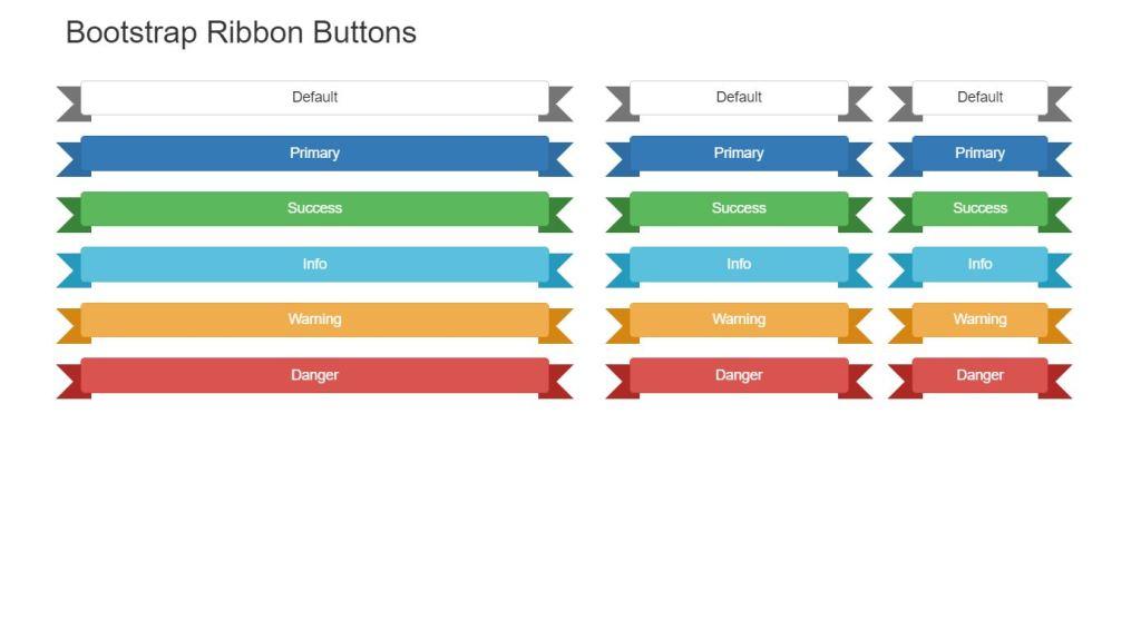 Bootstrap Ribbon Design Example