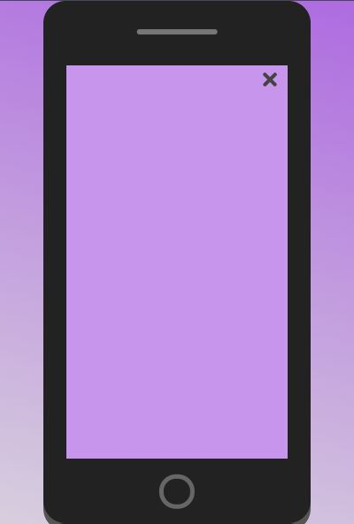 JavaScript mobile Nav menu Amazing style example