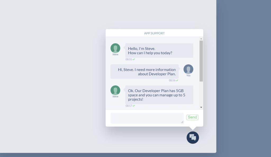 Simple JavaScript/JS Chat Box