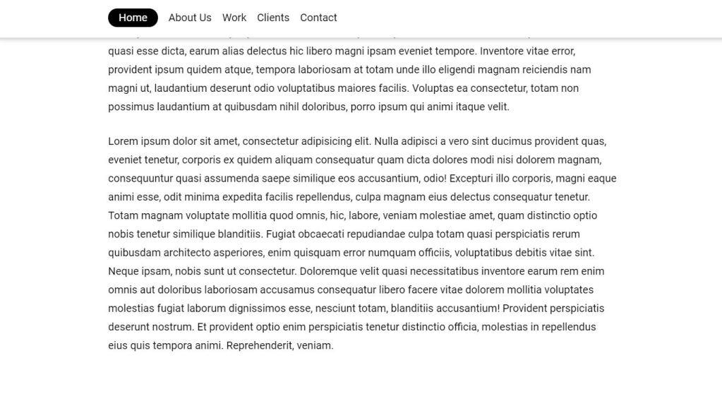 JavaScript Fixed header on scroll