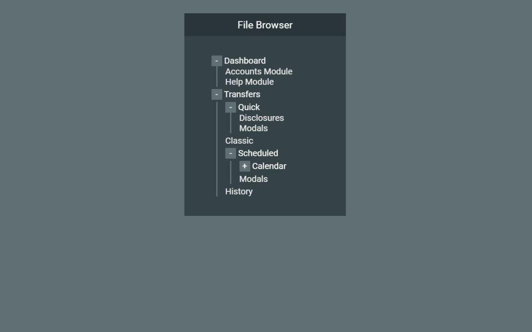 20+ JavaScript TreeView Design Examples