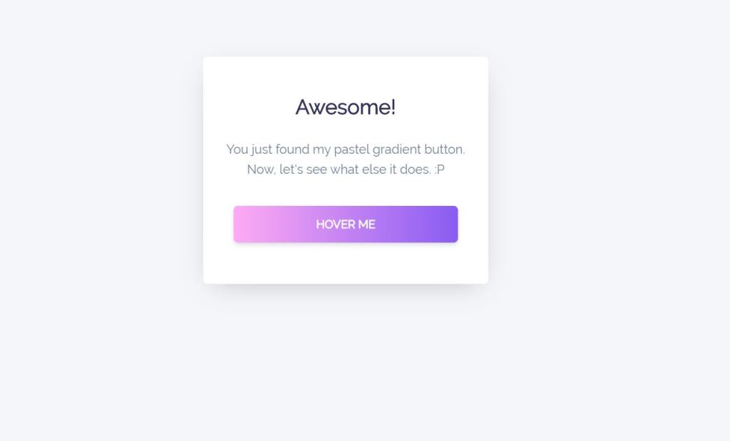 Animated Bootstrap Gradient Button