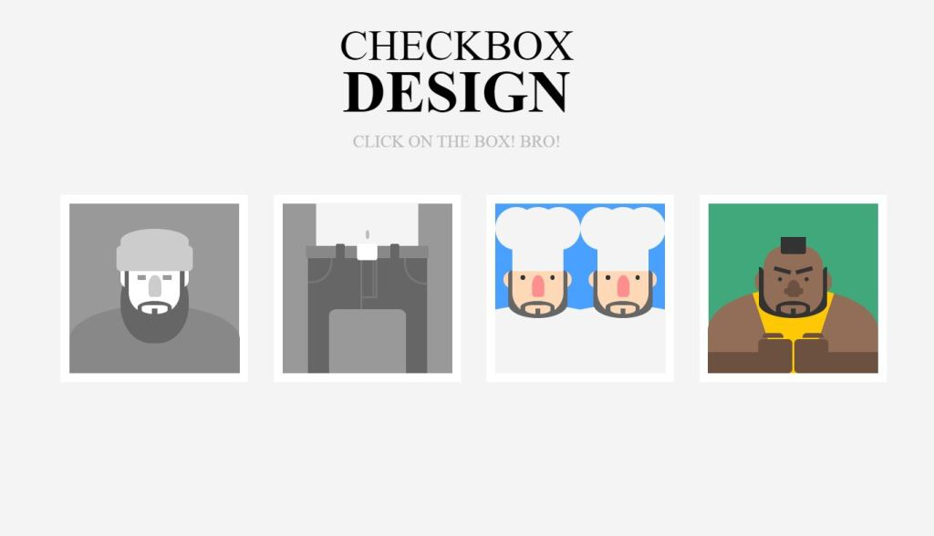 Checkboxes Animation