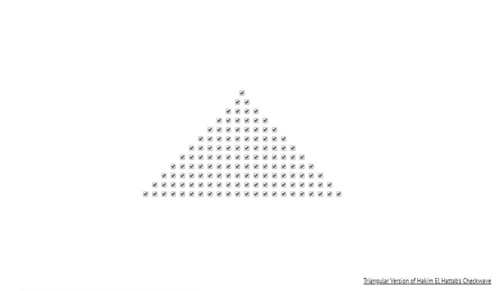 Checkbox Checkwave Triangle