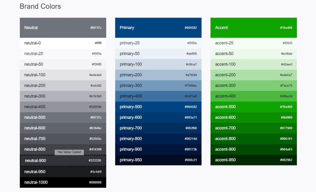 JavaScript/JS Color Palette Generate Code