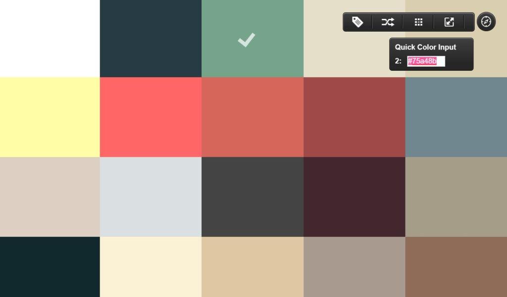 Color Scheme App with Flexbox