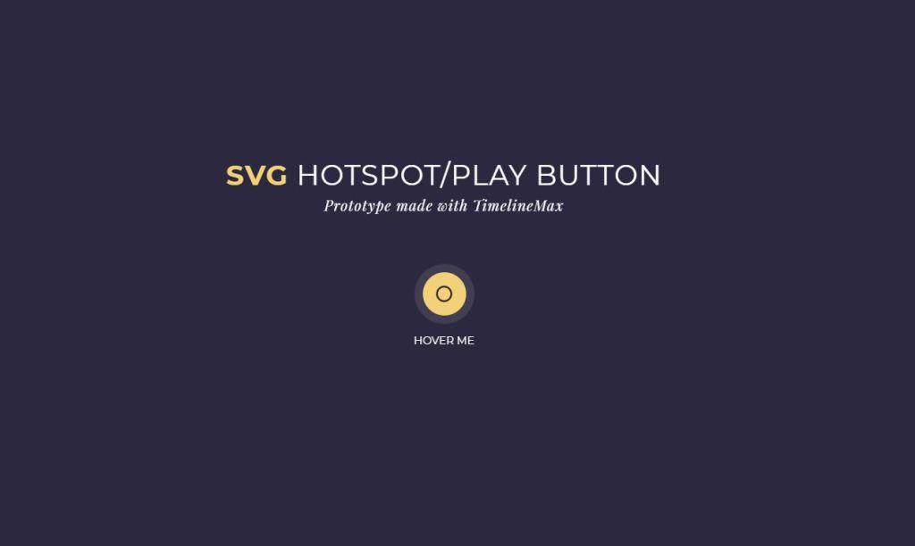 SVG JavaScript/JS Hotspots Example