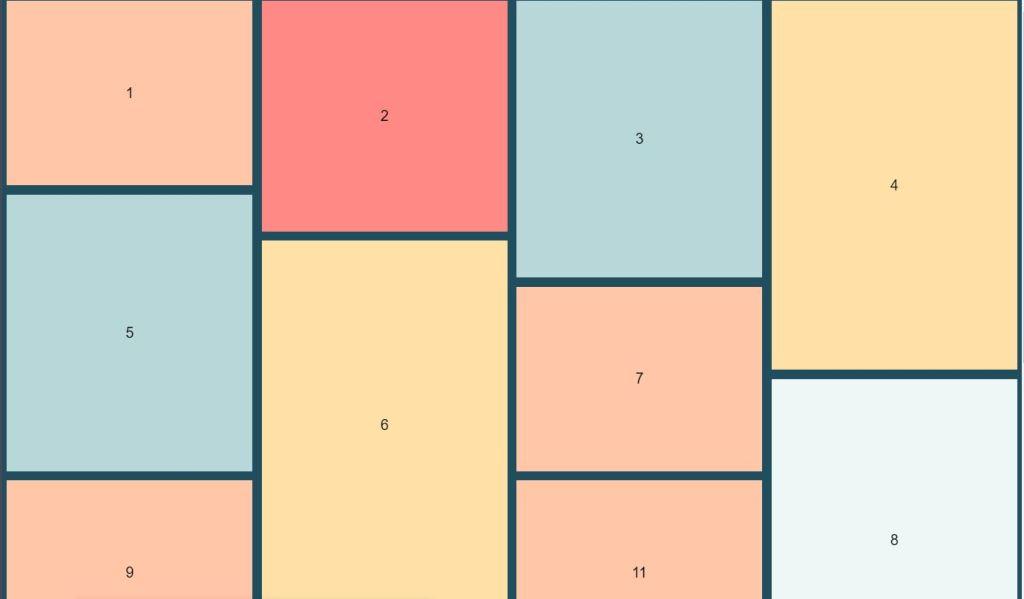 JavaScript/JS Masonry Experiment Example