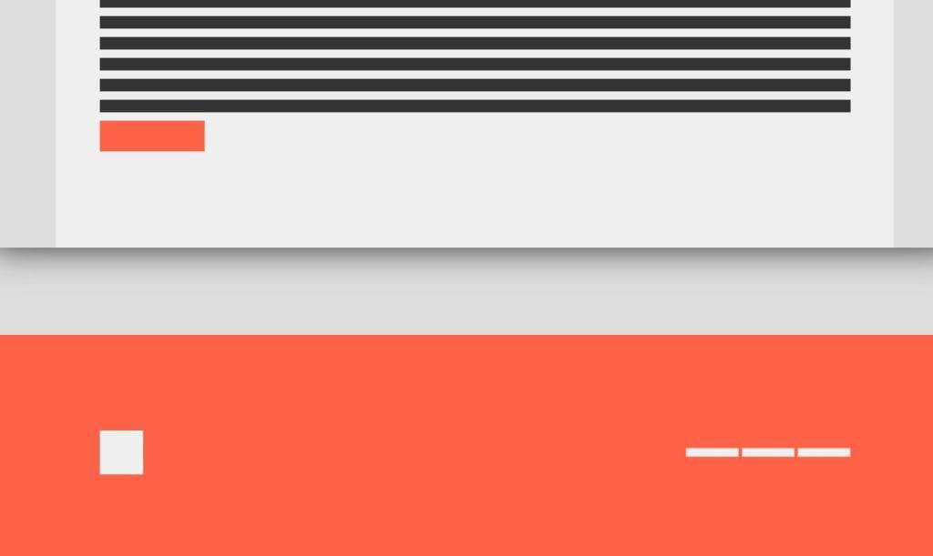 Simple JavaScript/JS Footer