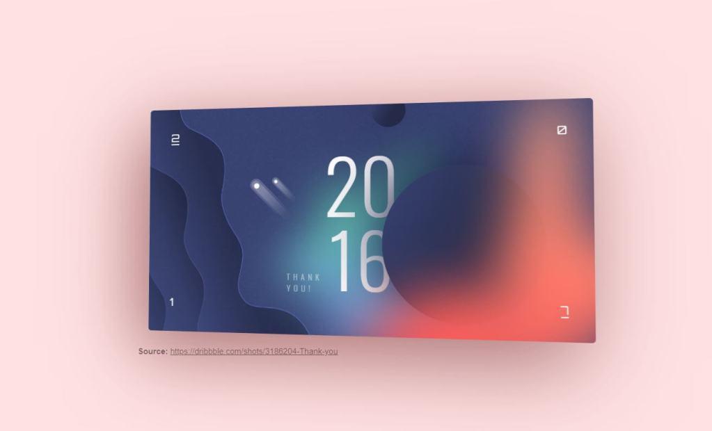 3D JavaScript Card