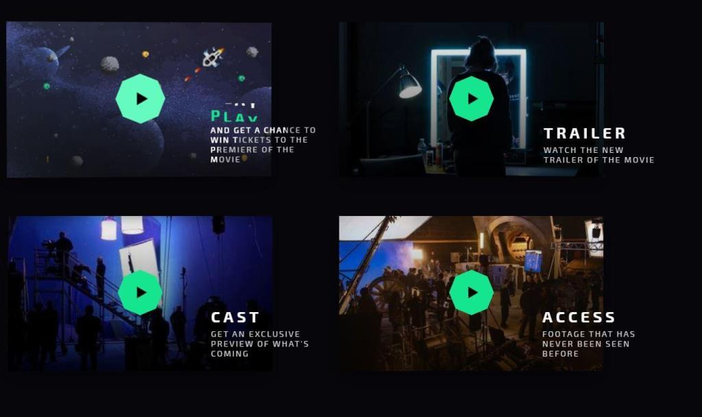 Animated Video Grid