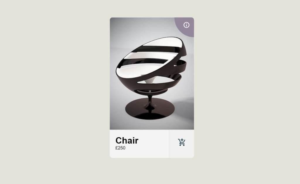 JavaScript Product Card