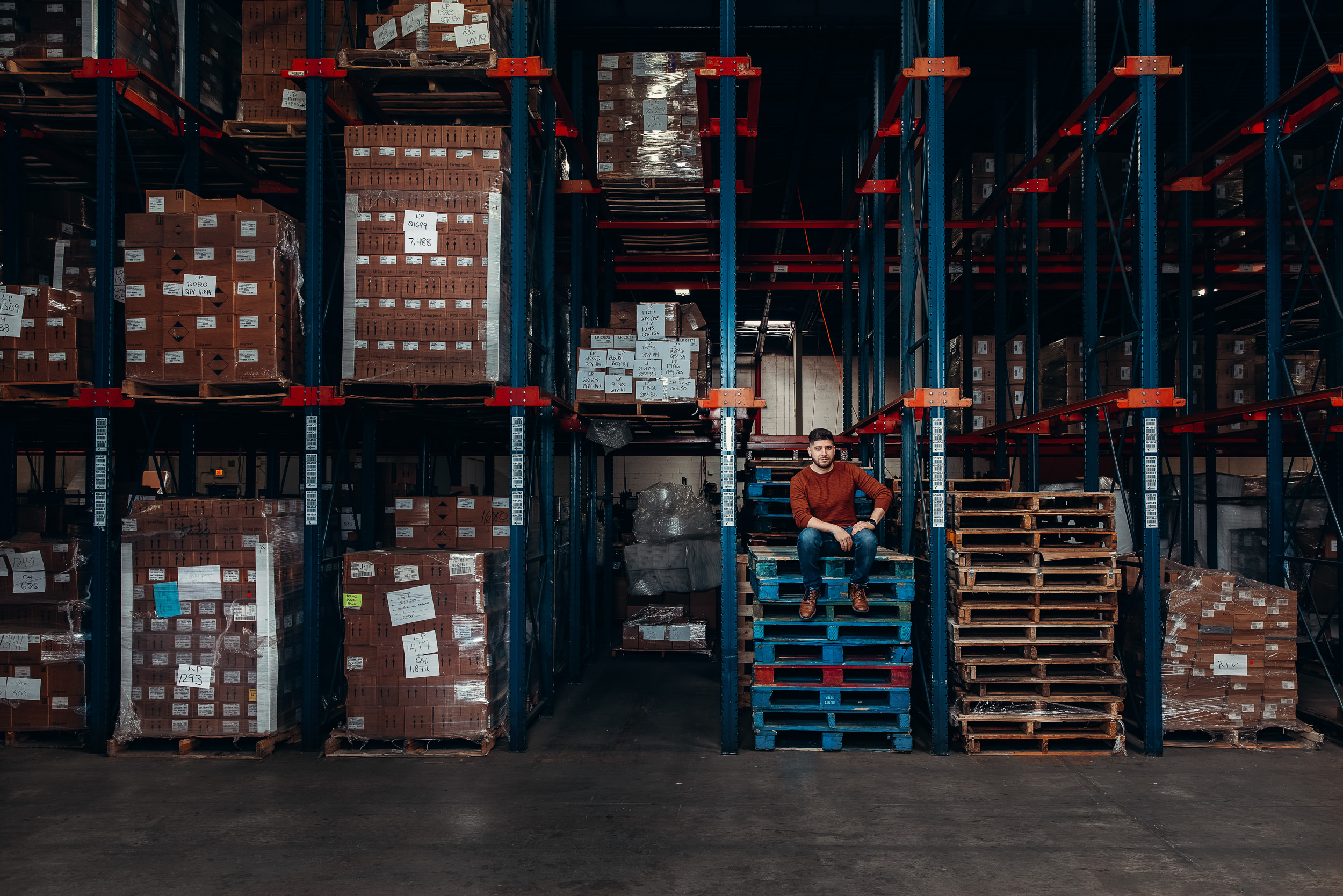 warehouse pallettes