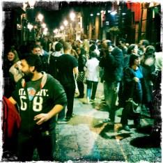 Pubbing in Bilbao.