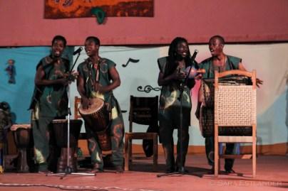 CLAN (Contes et Légendes d'Afrique Noire) on the Villa Karo stage.