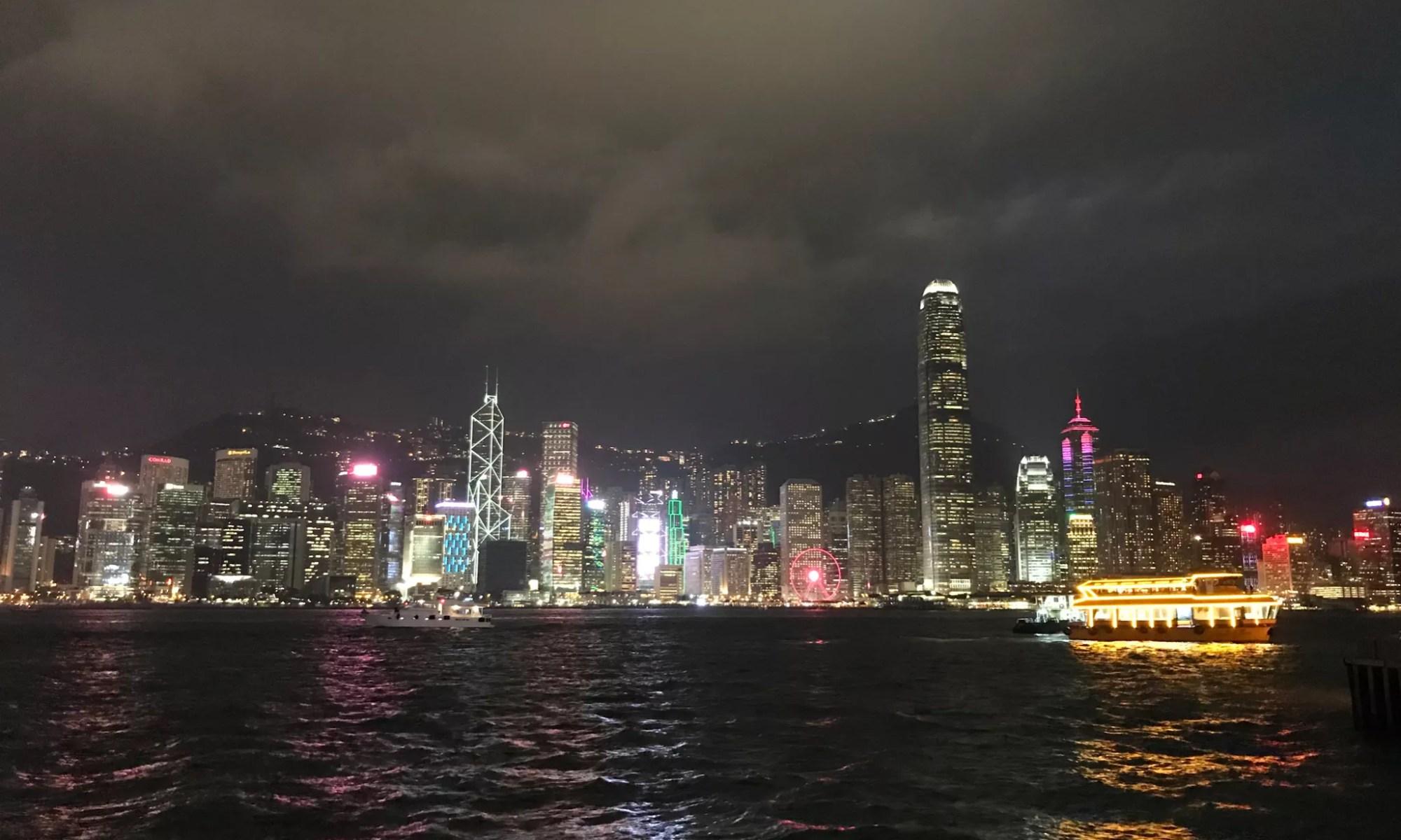 , Hong Kong: the Human Race in Concrete