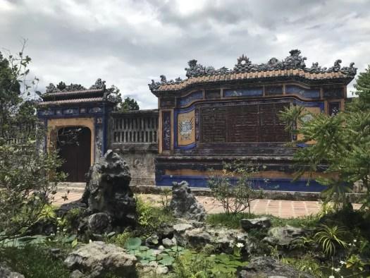 Ruins in Hue Imperial City