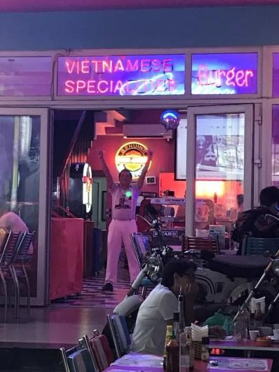 Cocsnack 50s nightclub in Hue Vietnam