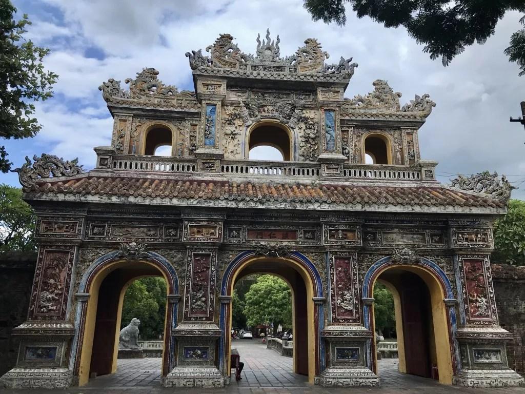 Hue, Vietnam Citadel gate