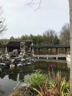 A bridge in Guyi Garden