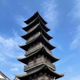 Chinese Pagoda in Jiading, Shanghai  - onaroadtonowhere.com