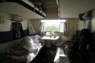 Notre carré de couchettes
