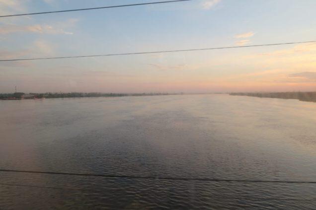 Un fleuve sur le trajet, mais lequel ?