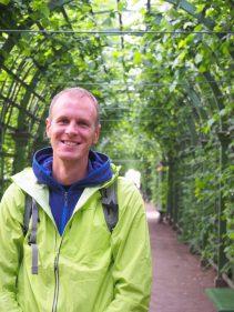 Portrait de Julien au jardin d'été - Saint Petersbourg