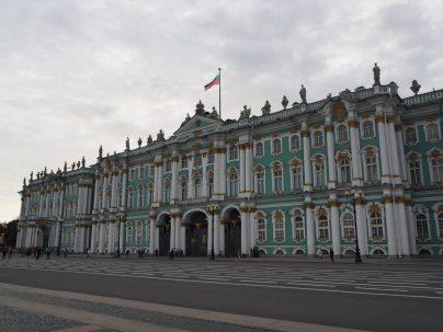 Photo du Palais d'hiver à Saint Petersbourg