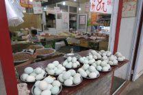 Vendeur de noix et d'oeufs