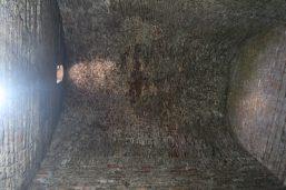 Vue sur le plafond d'un temple